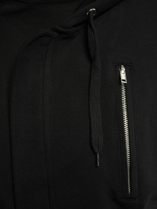 Bangastic Zip Hoodie AE463 Oversize schwarz