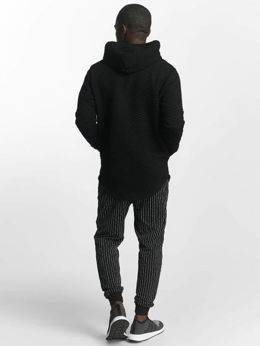 Bangastic Zip Hoodie Striped schwarz