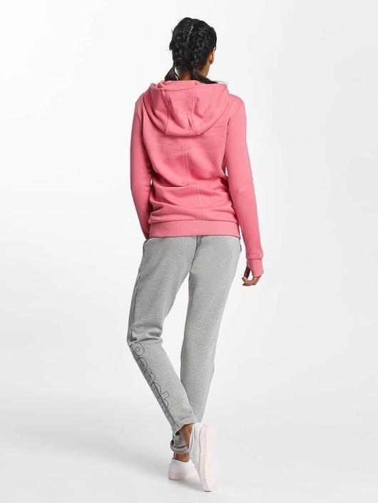 Bench Bluzy z kapturem Crop Print rózowy