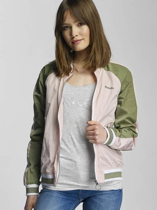 Bench Bomber jacket Colourblock rose