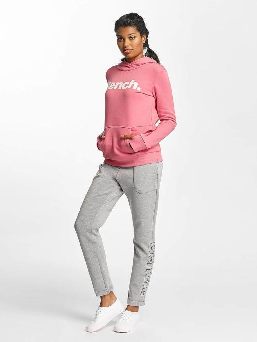 Bench Felpa con cappuccio Crop Print rosa chiaro