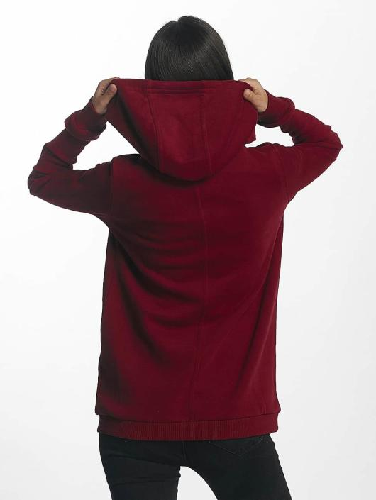 Bench Hoodie Corp Print röd