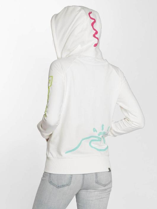 Bench Hoodies con zip Trough bianco