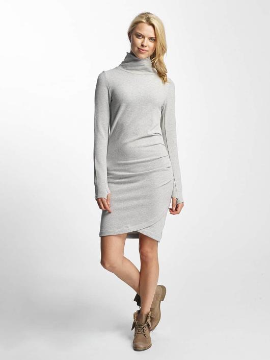 Grey Slim Melange Bench Dress Funnel WrCoBdxe