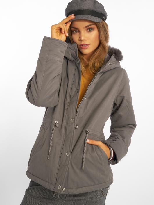 354951 Gris Femme Padded Hiver Bench Manteau 7gyb6f