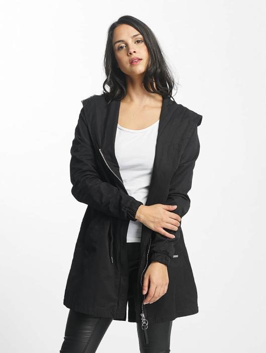 Bench Mantel Feminine Beltet schwarz