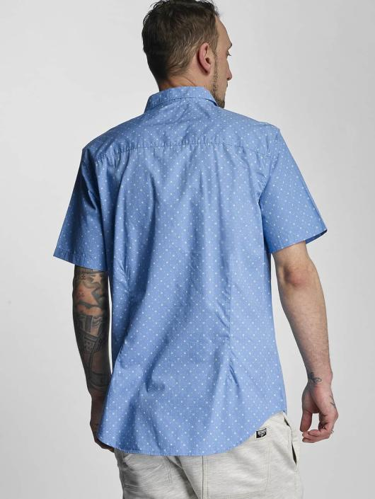 Bench overhemd Tile Aop blauw