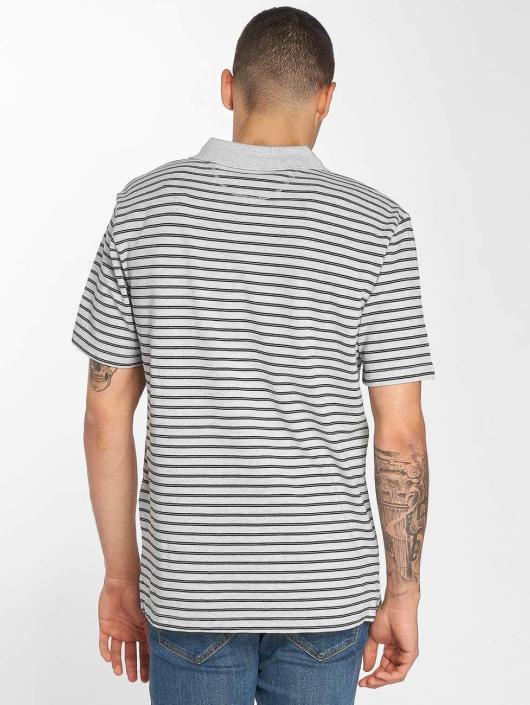 Bench Poloshirt Y/D Stripe grau