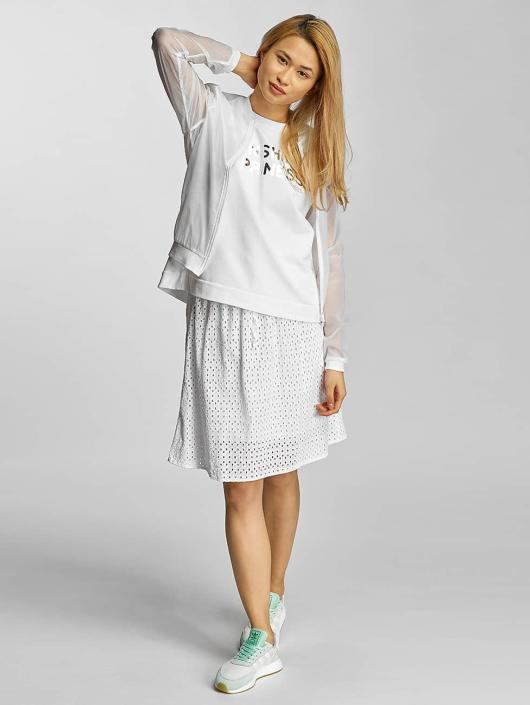 Bench rok Cotton Crochet wit
