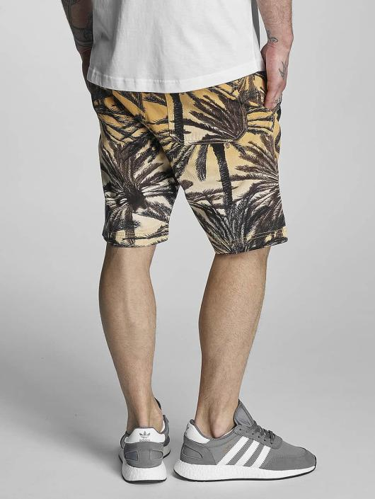 Bench Short Aop Palm black