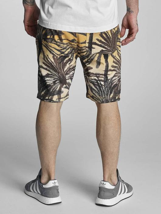 Bench shorts Aop Palm zwart