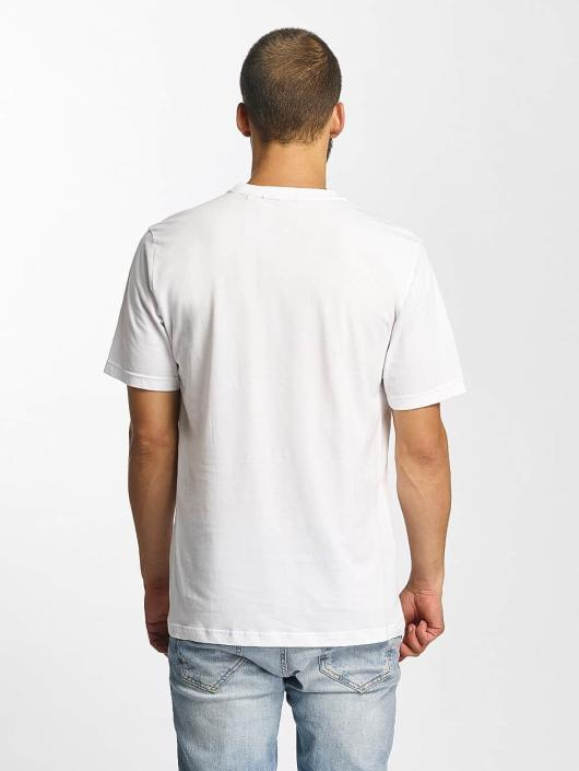 Bench T-shirt Photoprint Graphic bianco