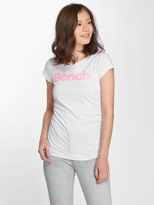 Bench T-shirt Logo bianco