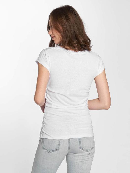 Bench T-Shirt Logo blanc