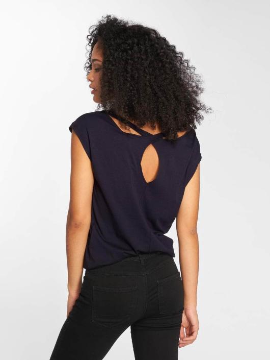 Bench T-Shirt Back Detail blau
