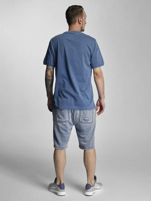 Bench T-Shirt Henley blue