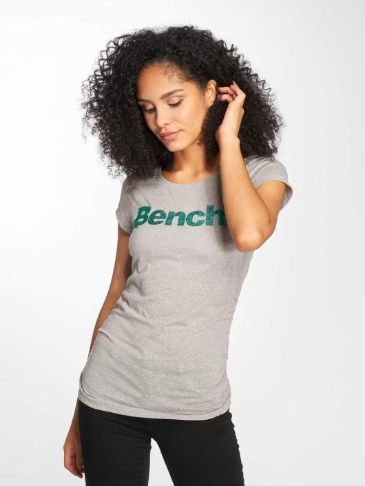Bench T-Shirt Logo grau