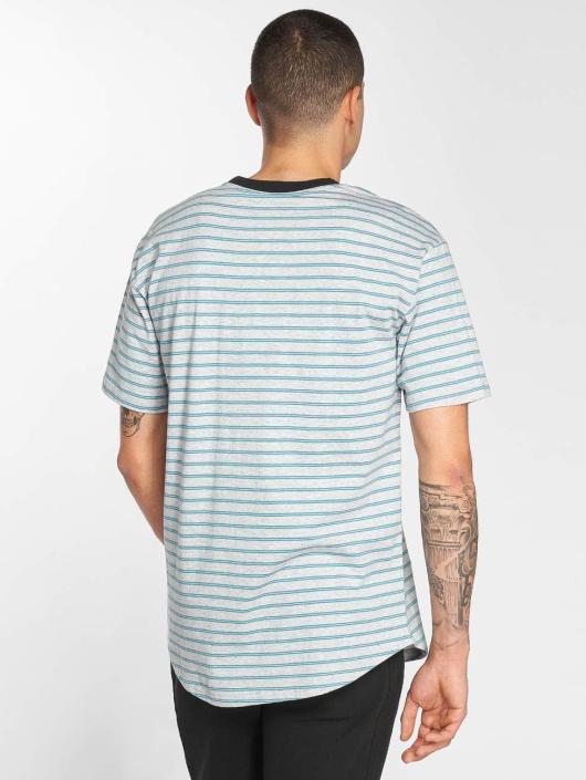 Bench T-shirt Striped grigio