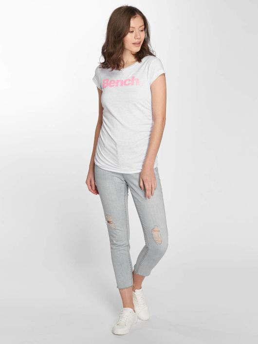 Bench T-shirt Logo vit