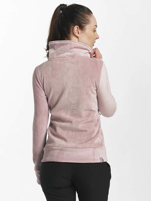 Bench Übergangsjacke Fleece Funnel rosa