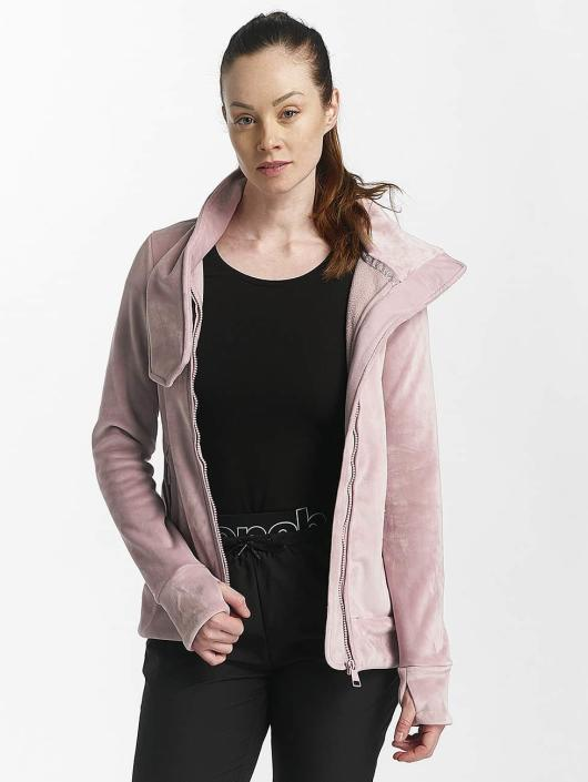 Bench Veste mi-saison légère Fleece Funnel rose