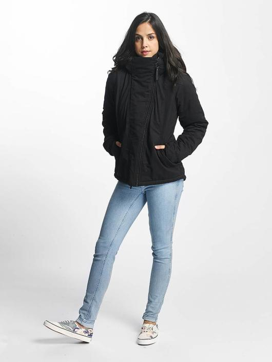 Bench Winter Jacket Asymmetric Functional black