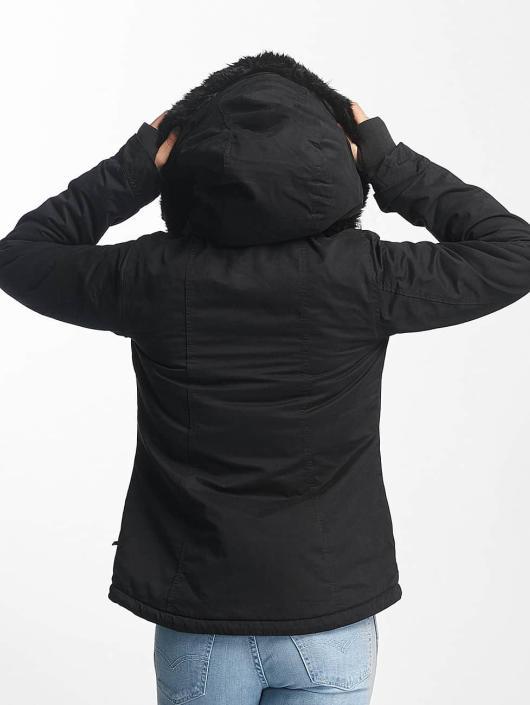 Bench winterjas Asymmetric Functional zwart