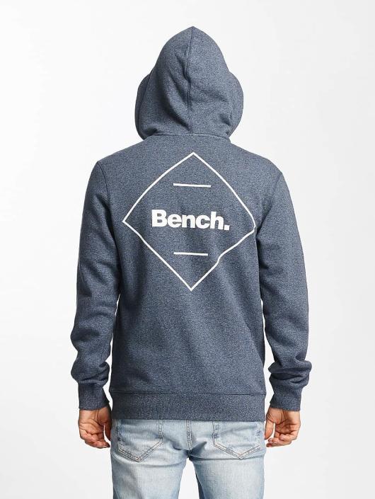 Bench Zip Hoodie Basic синий