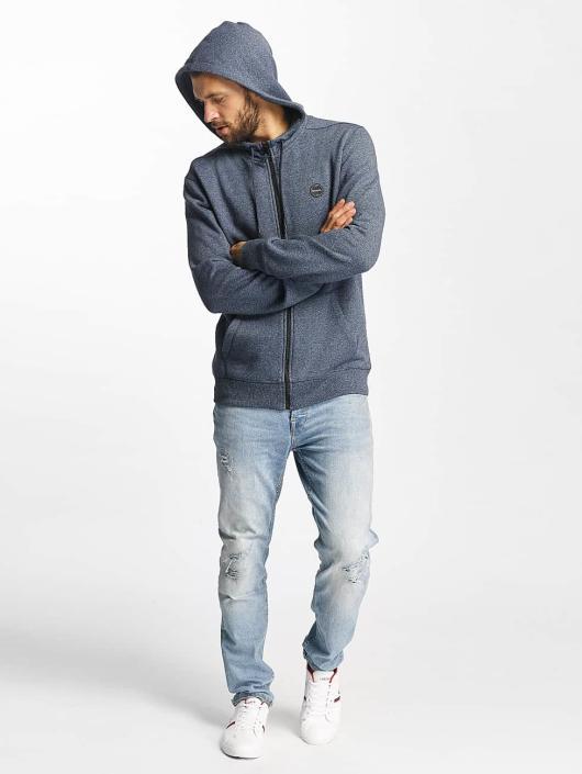 Bench Zip Hoodie Basic blå