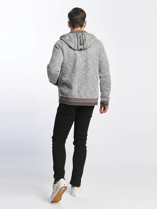 Bench Zip Hoodie Bonded gray