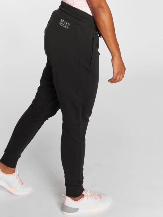 Better Bodies Pantalones sudadera Jogger negro