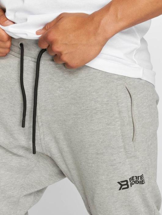 Better Bodies Pantalons de jogging Harlem gris