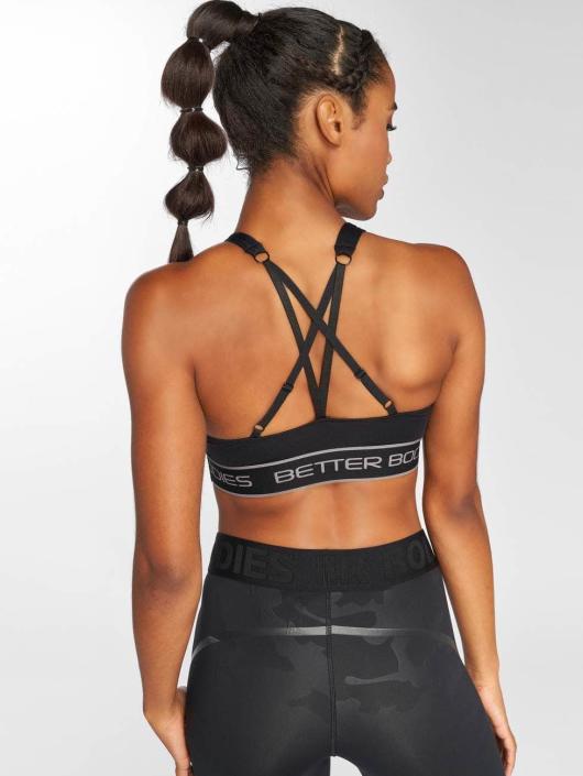 Better Bodies Soutiens-gorge de sport Athlete Short noir