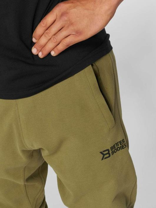 Better Bodies Sweat Pant Harlem khaki