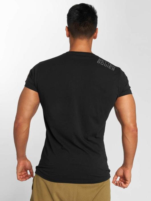 Better Bodies T-skjorter Basic Logo svart