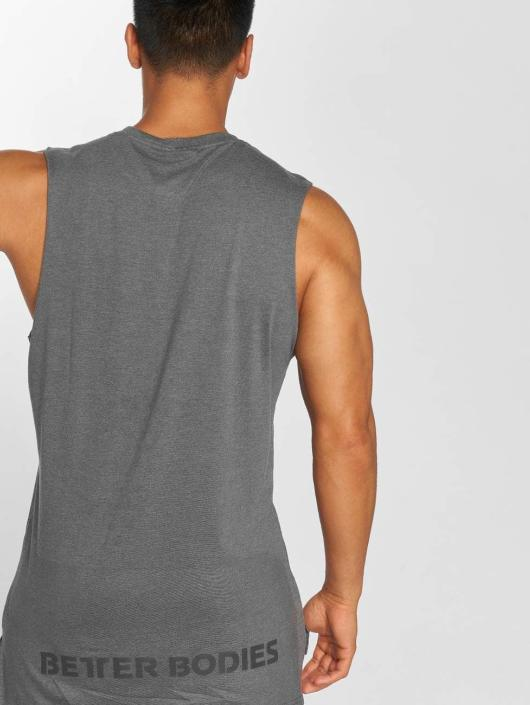 Better Bodies Tank Tops Bronx grau