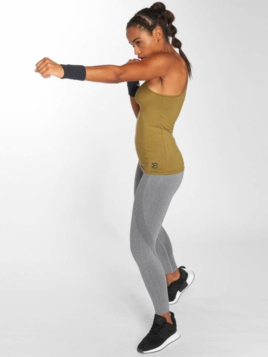 Better Bodies Top Performance khaki