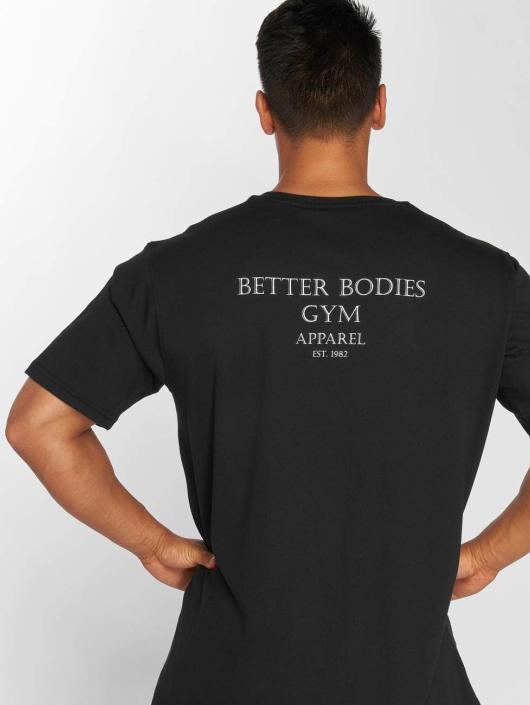 Better Bodies Tričká Harlem Oversize èierna