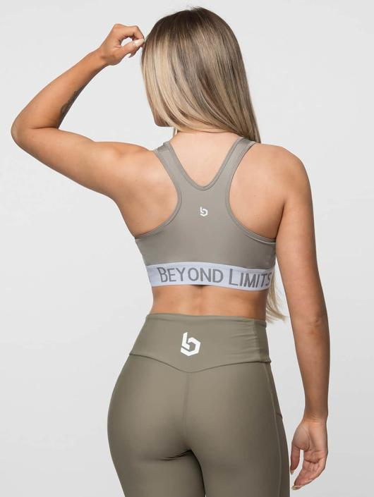 Beyond Limits Športová podprsenka Free Motion kaki