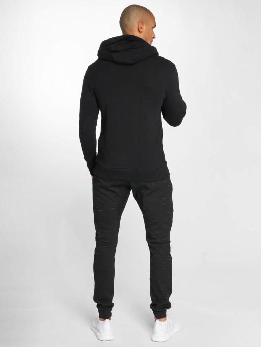 Beyond Limits Bluzy z kapturem Crowned czarny