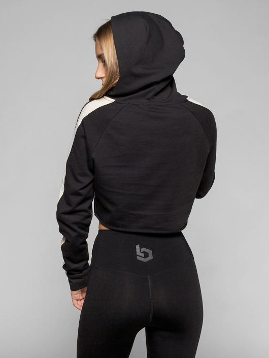 Beyond Limits Hoody Raw Cut zwart
