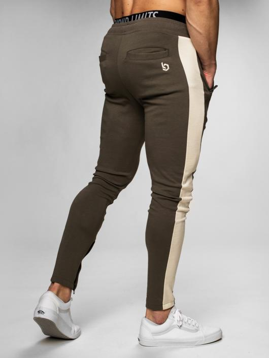 Beyond Limits joggingbroek Foundation khaki