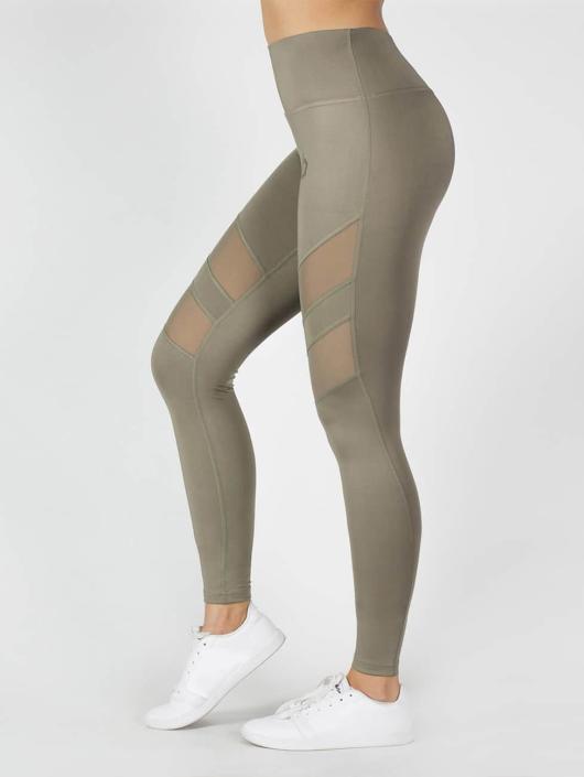 Beyond Limits Legging Super High Waist Mesh kaki