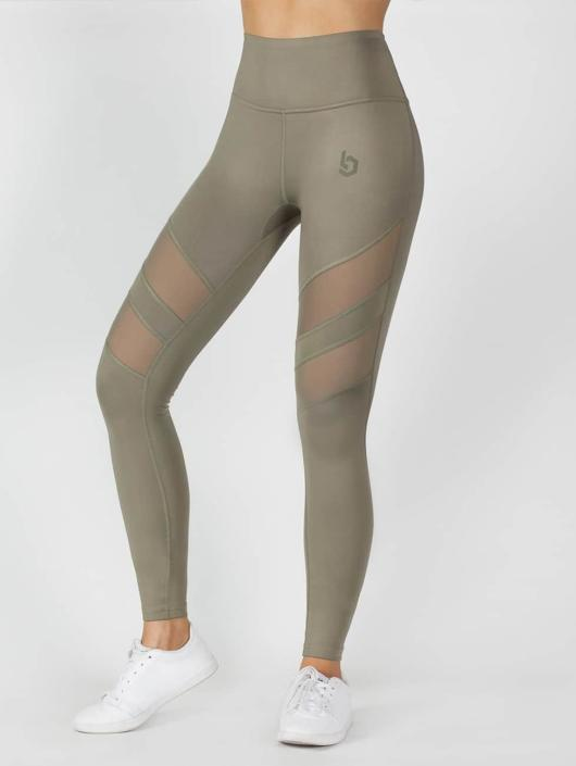 Beyond Limits Leggings/Treggings Super High Waist Mesh khaki
