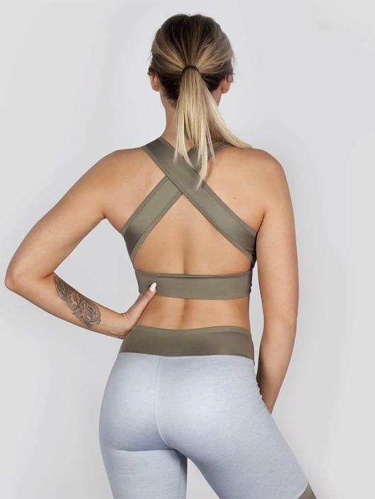 Beyond Limits Sports Bra Crossback grey