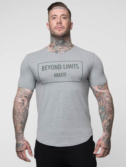Beyond Limits t-shirt Signature grijs