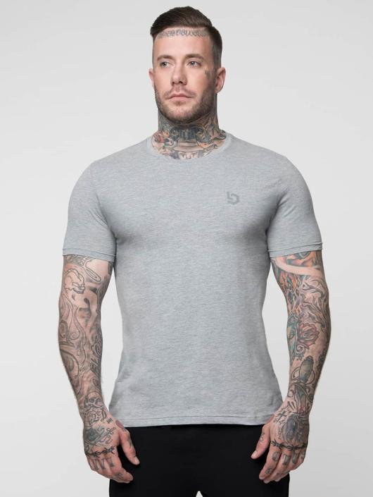 Beyond Limits T-Shirty Basic szary