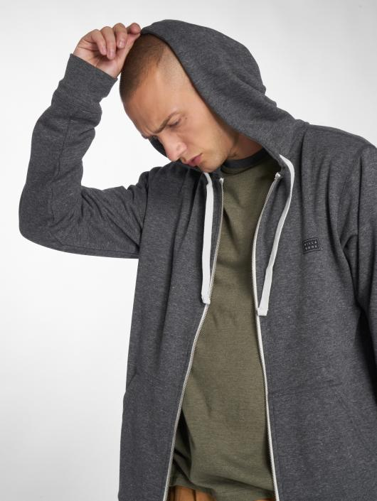 Billabong Zip Hoodie All Day gray