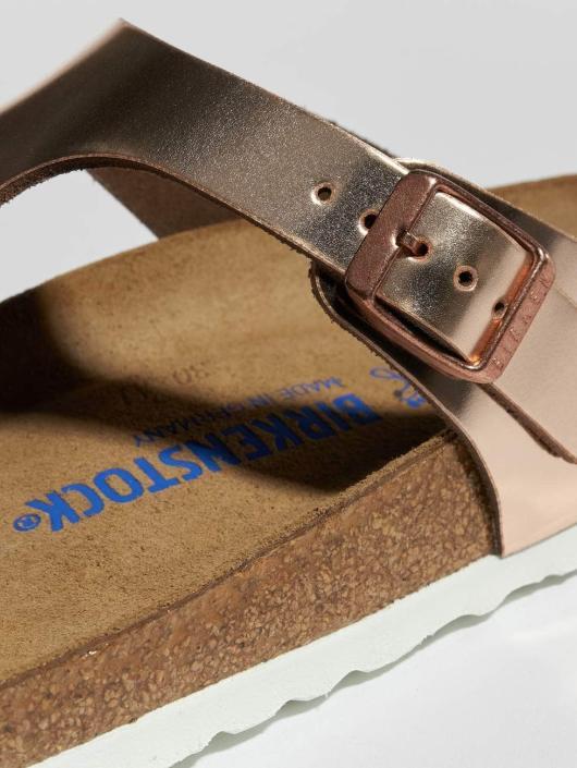 Birkenstock Badesko/sandaler Gizeh NL SFB brun