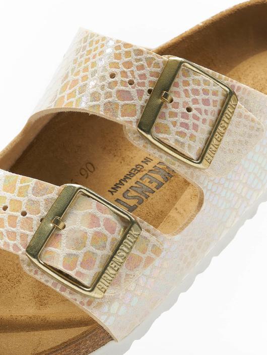 Birkenstock Sandalen Arizona BF Shiny Snake beige